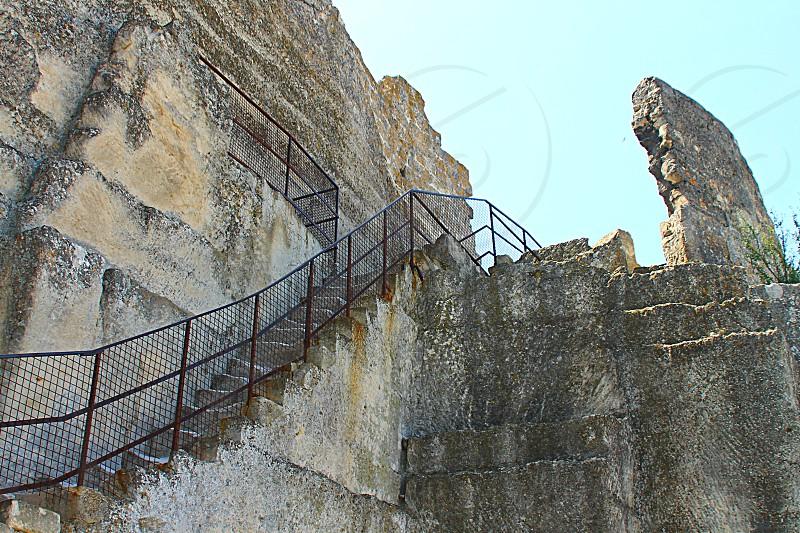 Fort at La Baux de Provence  photo