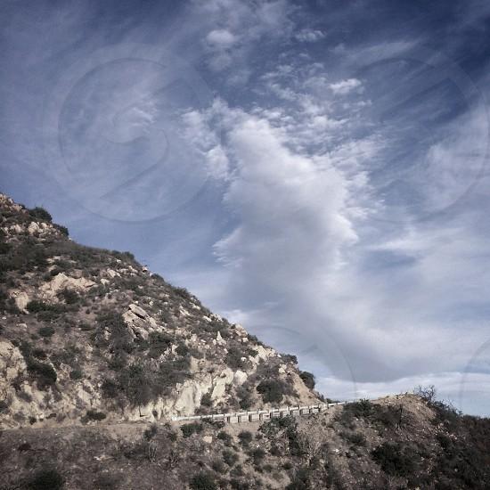 Gibraltar road Santa Barbara CA photo