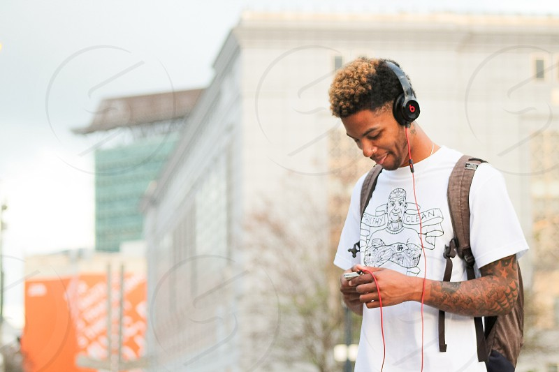 """""""I can zone out with this [beats]"""" - Model/Artist @Itsmontae photo"""