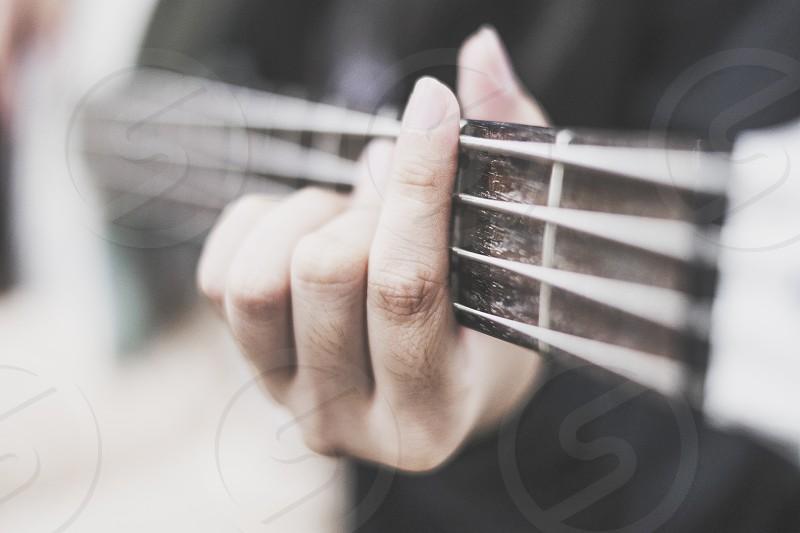 Bass guitar photo