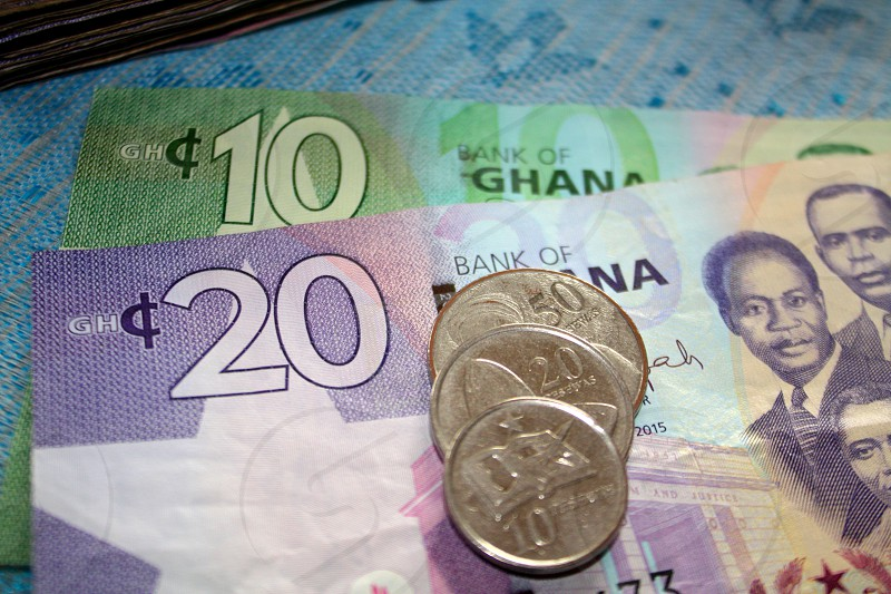 The Ghanaian Currency photo