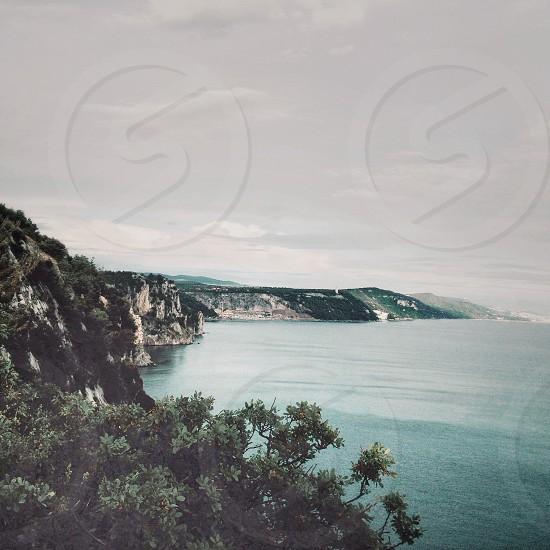 rocky coast photo