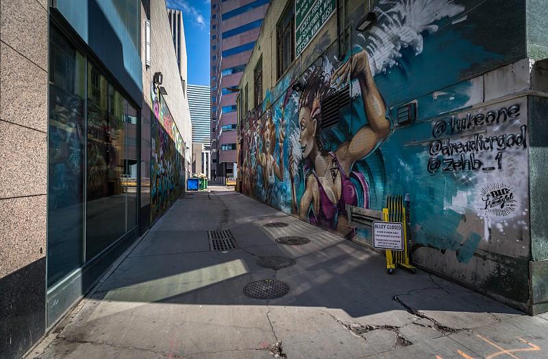 Impressions around Denver downtown Colorado photo