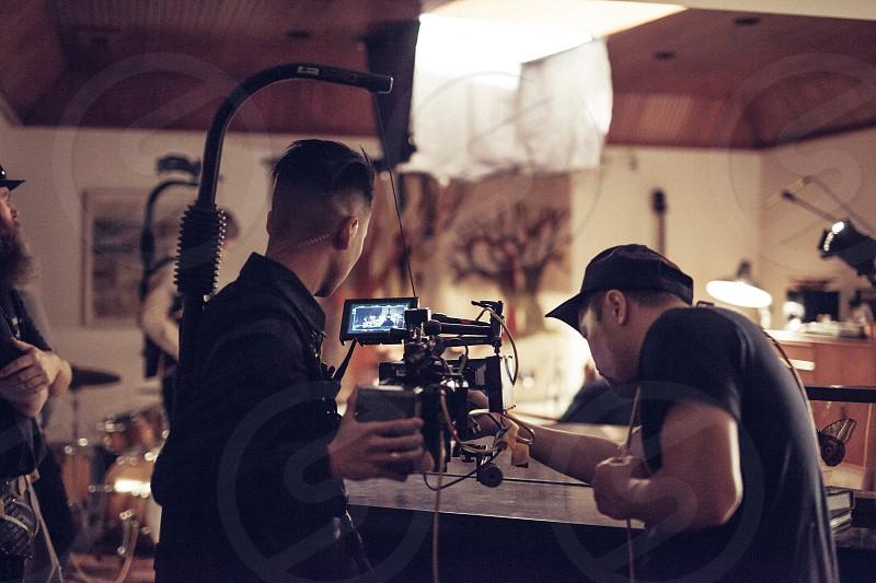 On set unit still camera film series short film focus lighting photo