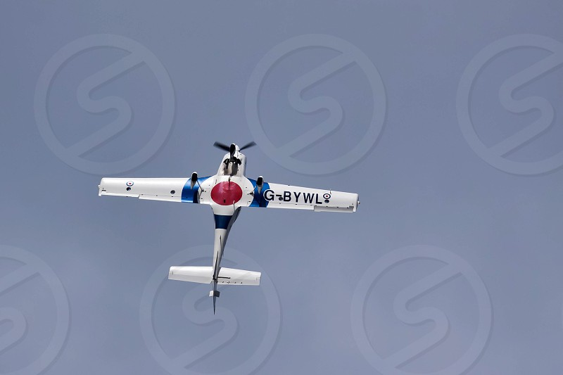 Grob 115E Tutor T1 Aerial Display at Biggin Hill Airshow photo