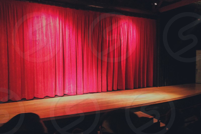 Red Curtain photo