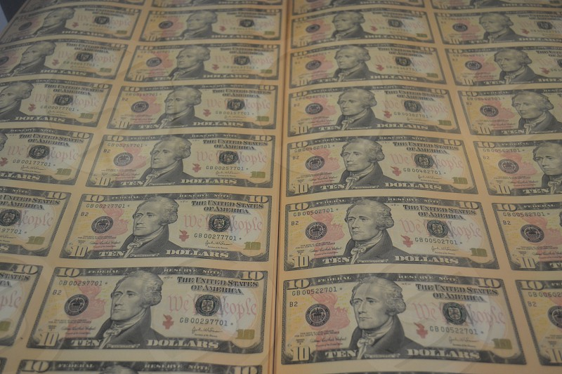 Money millions mint photo