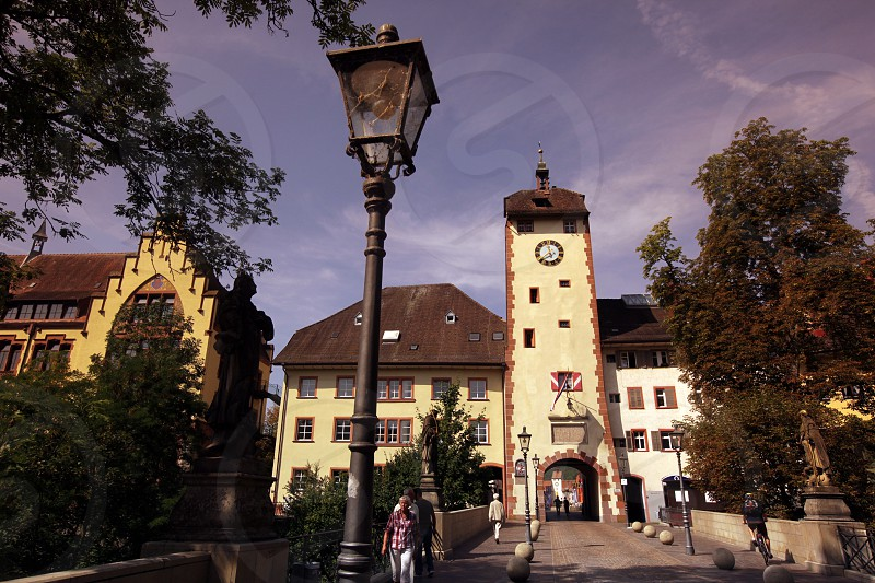 the old town of Waldshut in the Blackforest in the south of Germany in Europe. photo