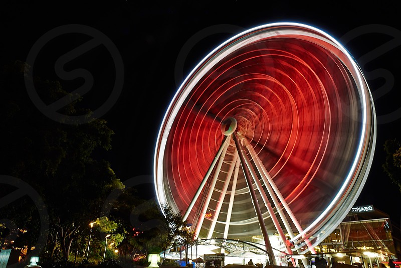 Wheel of red photo