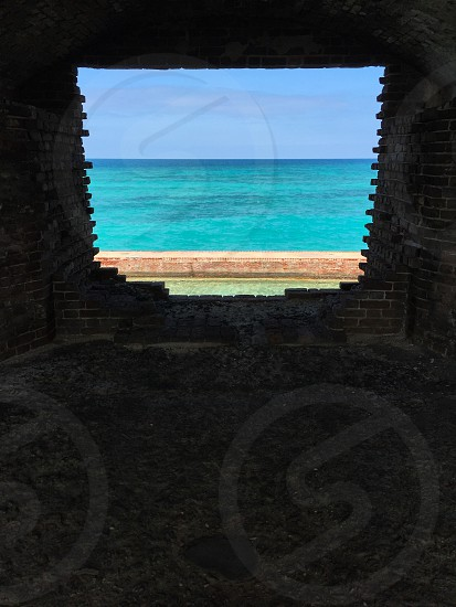 Dry Tortugas Key Westsnorkelingoceanblue skyFort Jefferson photo