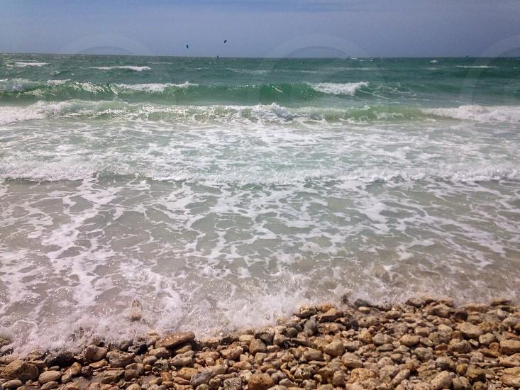 Rocky shore. photo