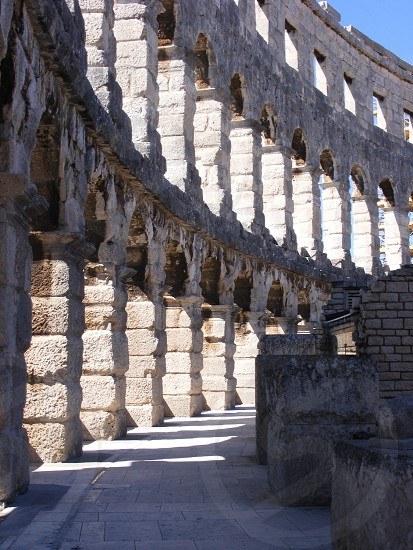 Pula ampitheatre Croatia photo