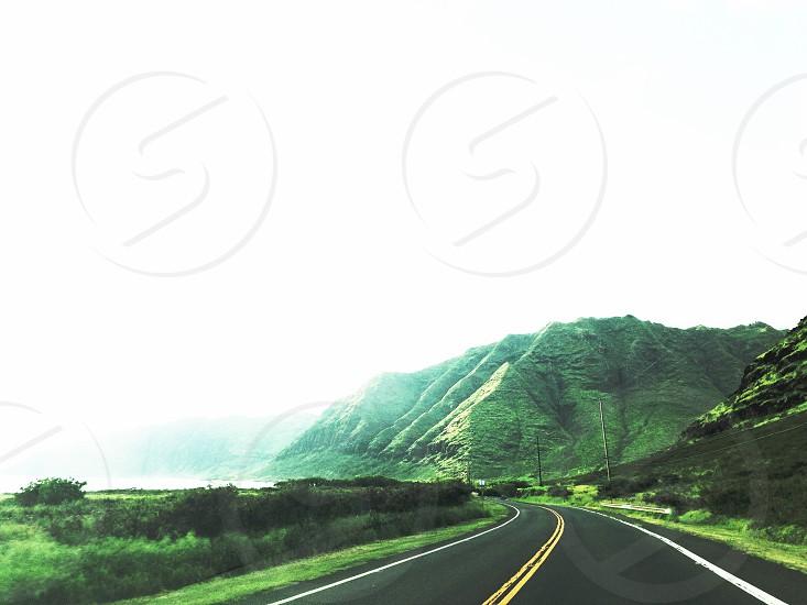 Kaena Point State Park Oahu Hawaii Road Trip Travel Highway Explore Mountains Landscape photo
