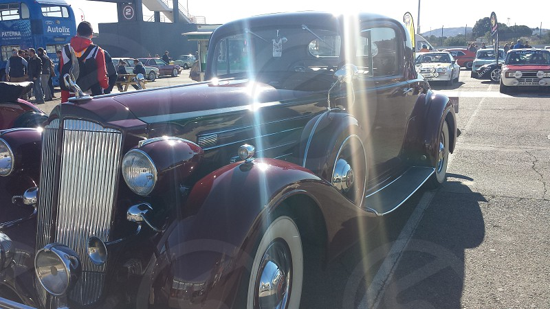 Old car. photo