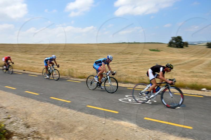 Bicycle race Ramot Menashe photo