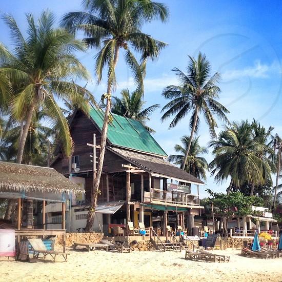 Koh Samui beach bar Thailand photo