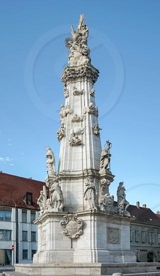 Holy Trinity column Budapest photo