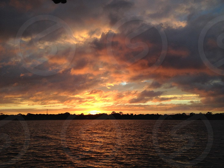Daytona Beach - Halifax River Sunset photo