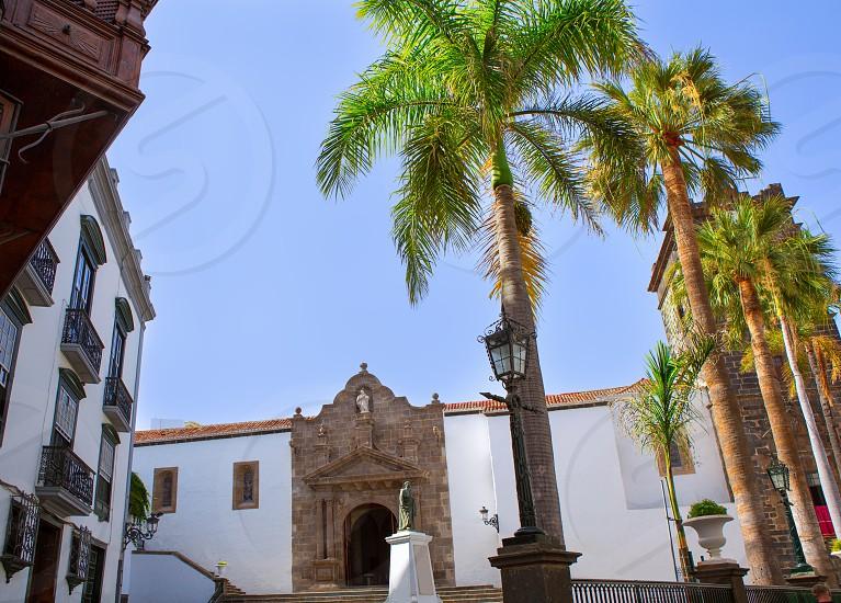 Santa Cruz de La Palma Plaza de Espana Iglesia Matriz de el Salvador church photo