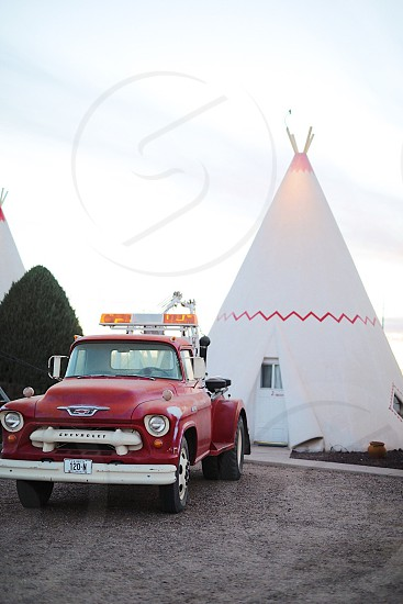 Teepee hotel Route 66 photo