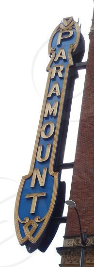 Paramount Theater Seattle Washington photo