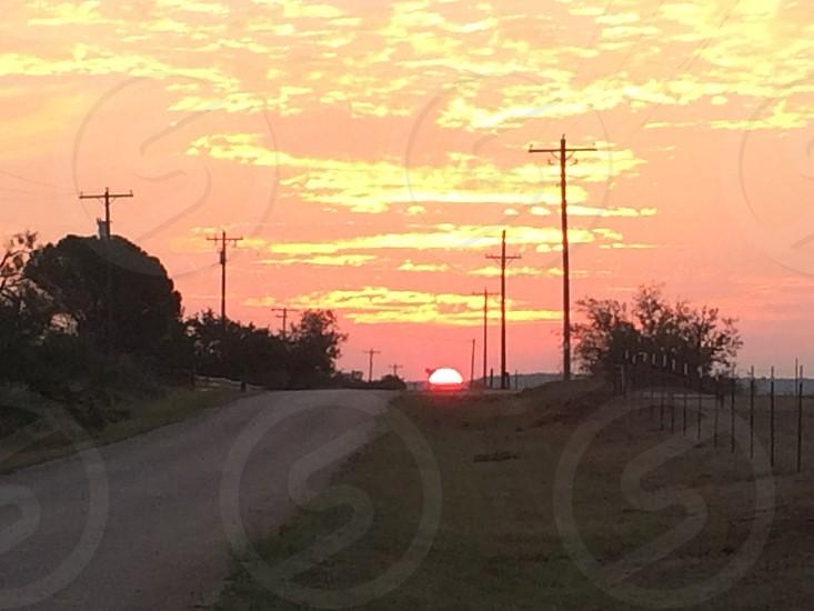 The sun rise  photo