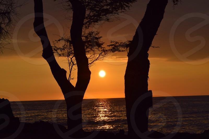 Hawaii Island Sunset photo