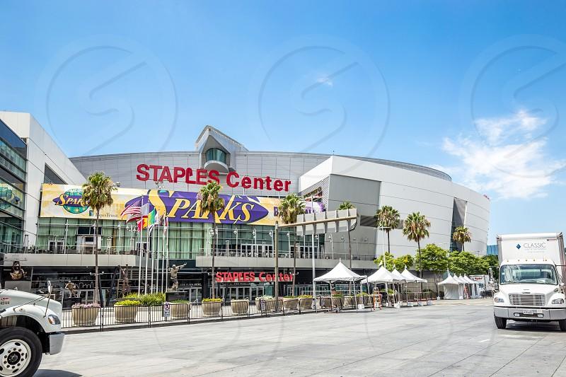 Staples Center in Los Angeles CA photo