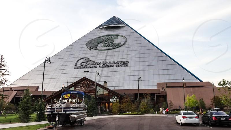 Memphis Pyramid - Memphis TN USA photo