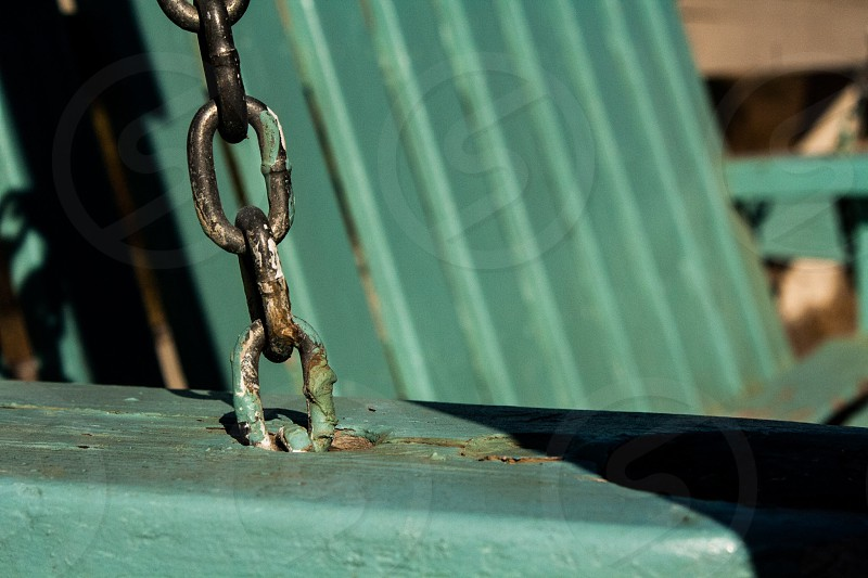 Chained down? photo