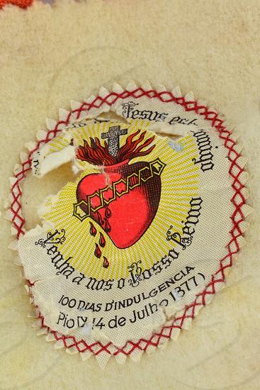 heart bleeding Catholicism Jesus photo