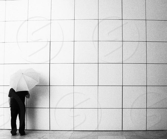 white wall tiles photo