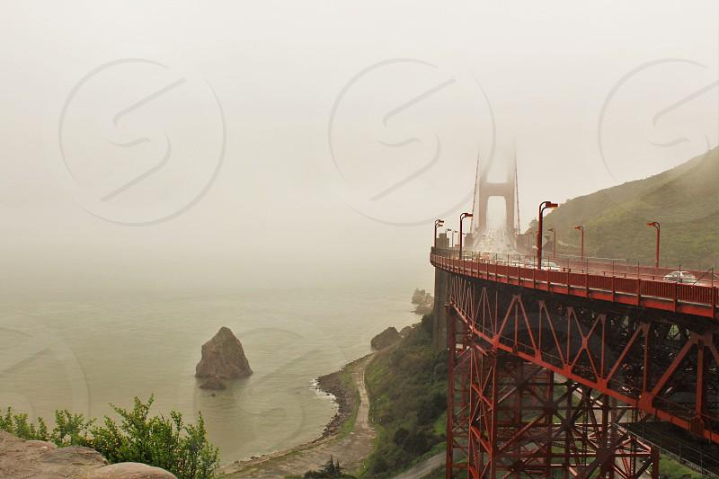 Golden Gate Bridge in the Rain photo
