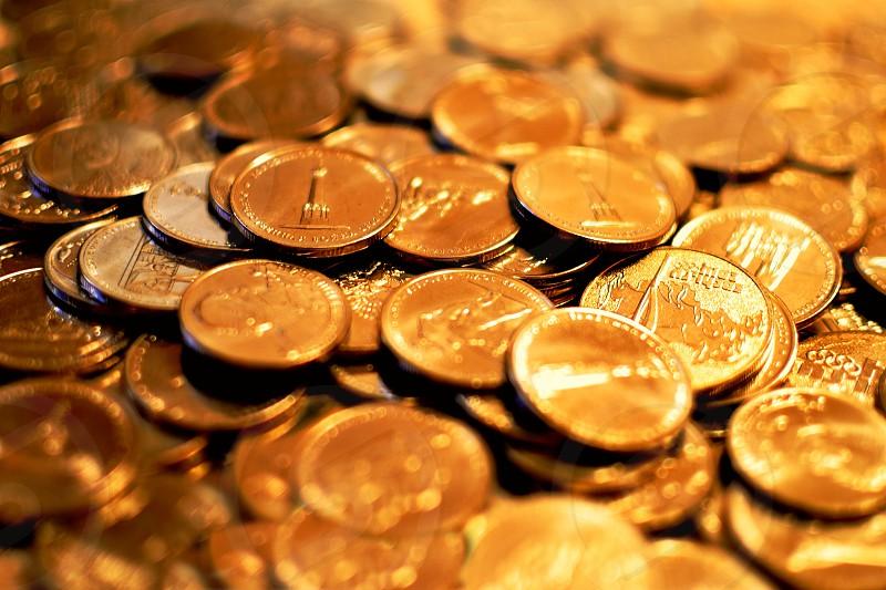 money cash dollar cent gold lifestyle business photo