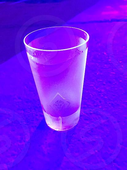 Ultra violet pink light party photo
