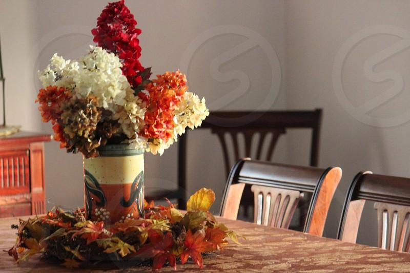 Fall at home photo