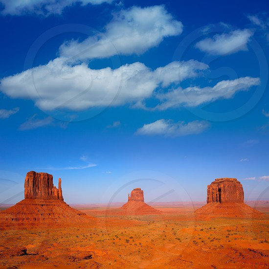 Monument Valley West and East Mittens and Merrick Butte Utah photo