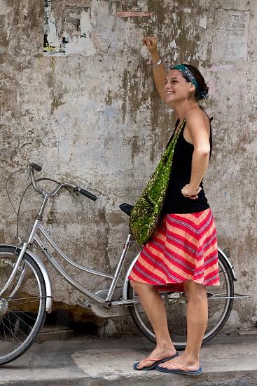 bicycle travel zanzibar photo