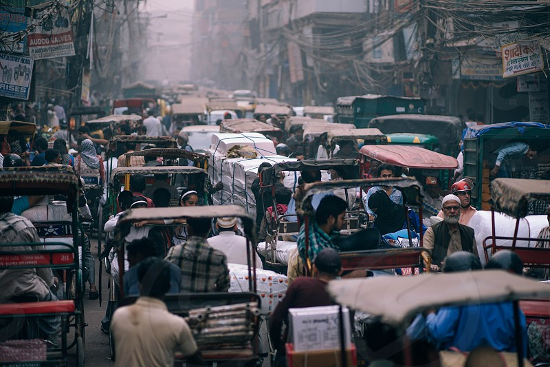This is New Delhi in one picture. photo