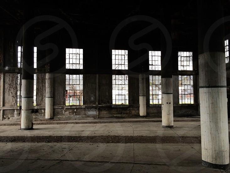empty warehouse building photo