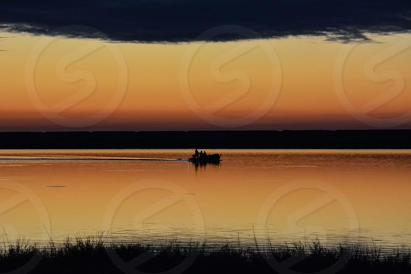 people on sailing boat photo