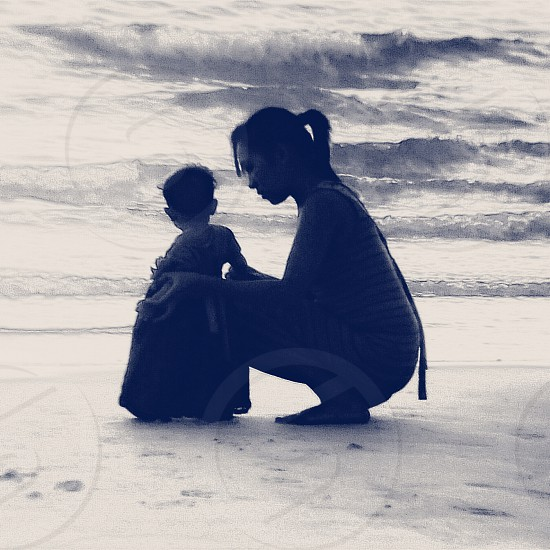mother & dauther photo