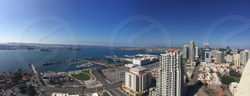 San Diego California heights rooftop gorgeous view  photo