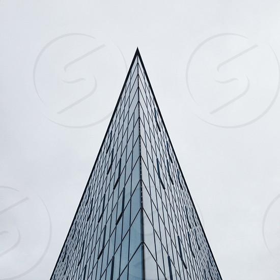 glass panel building photo