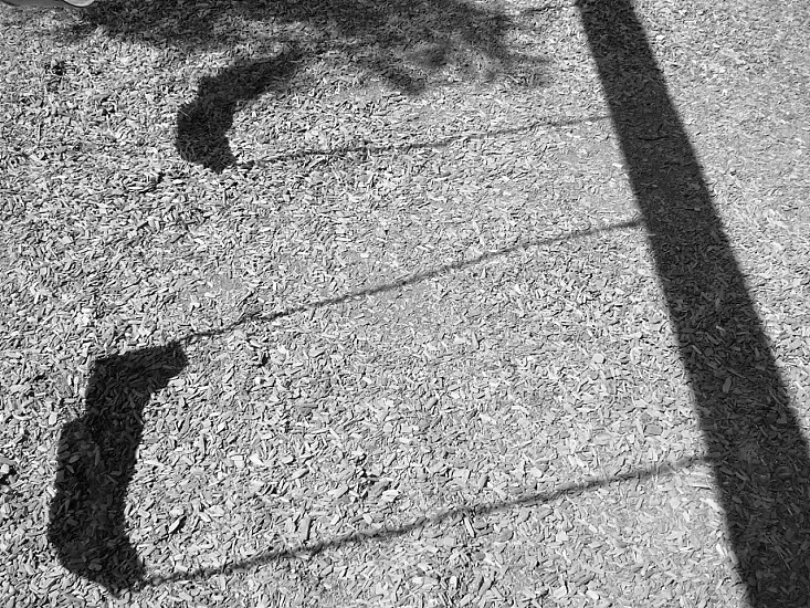 shadow of swing photo