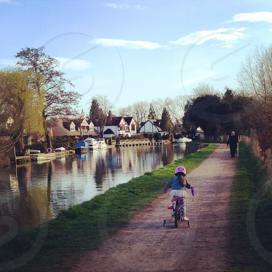 River Lea Hertfordshire photo