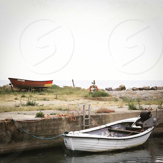 Boating lifestyle  boats coast harbor summer boat engine  photo