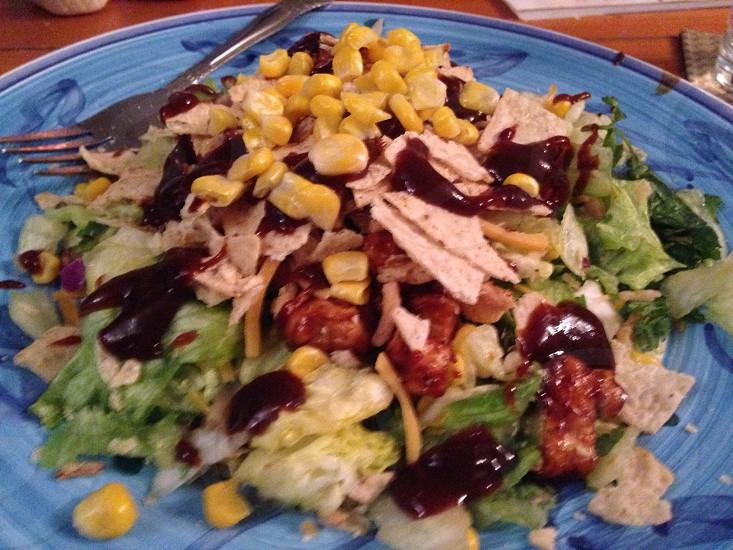 food on plate photo