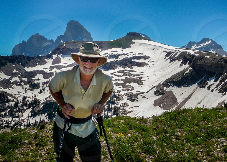 Hiking to Table Mountain in Grand Teton National Park photo