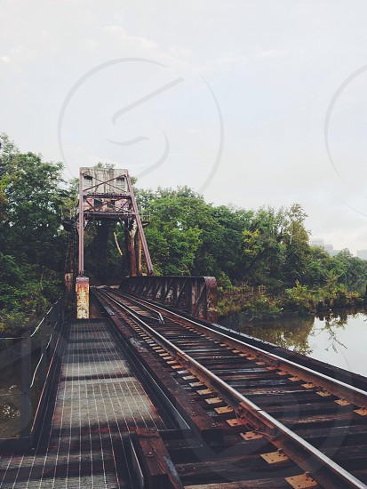 Railroad on the Canal photo